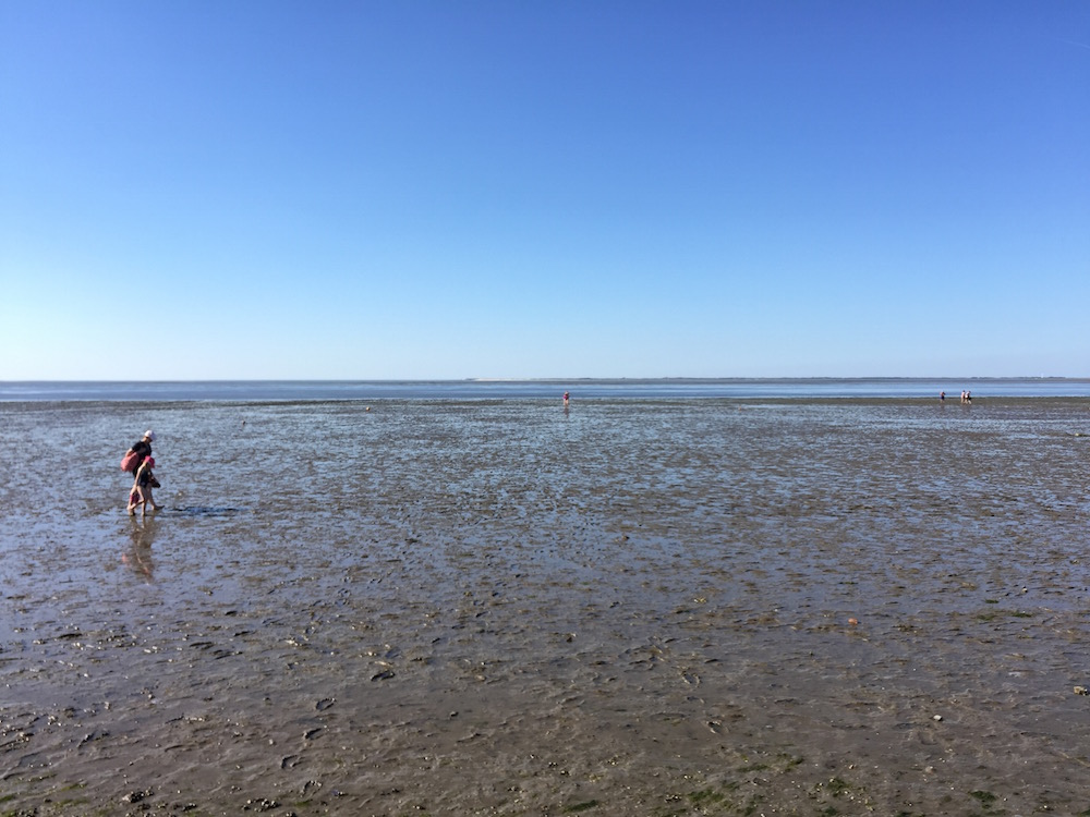 Das Wattenmeer der Nordsee in Neuharlingersiel