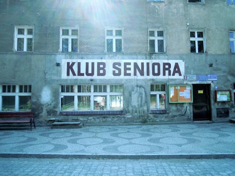 Seniorenclub in Frankenstein (Zabkowice Slaskie), Schlesien