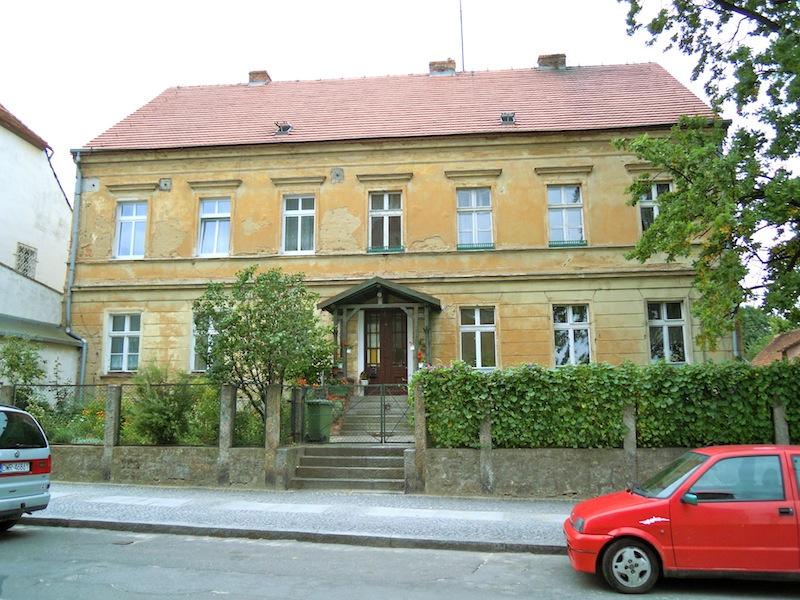Geburtshaus meines Vaters in Zobten am Berge, Schlesien