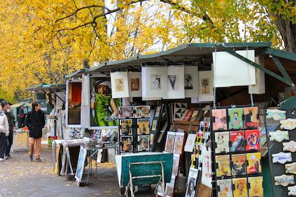 Viele schwule Touristen in Paris lieben die Kunst