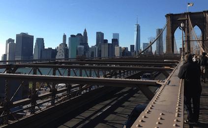 24 Stunden in New York City: Zu Fuß über die Brooklyn Bridge