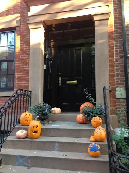 Typisch Amerika: Halloween-Kürbisse