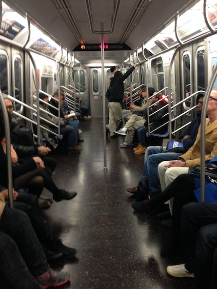 F-train New York City - Brooklyn