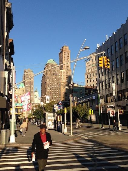 Endspurt unserer 24h in New York: Fulton Mall Brooklyn