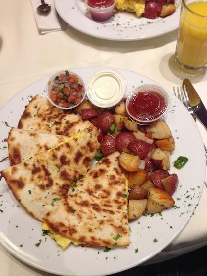 Amerikanisches Frühstück: Die Zeit läuft!