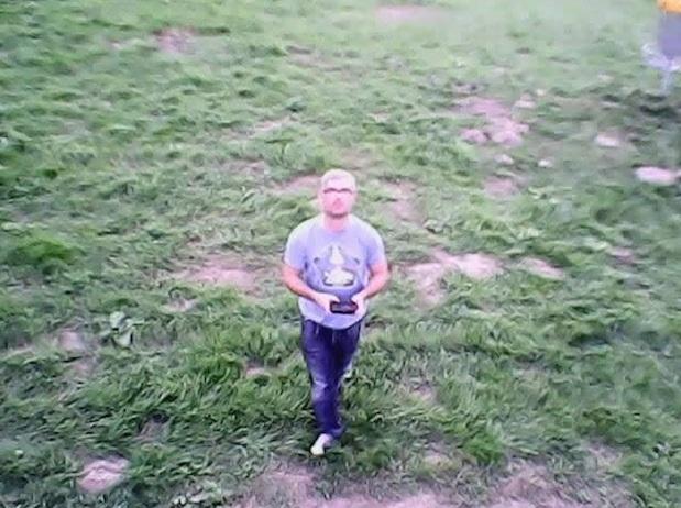 Mein erstes Dronie