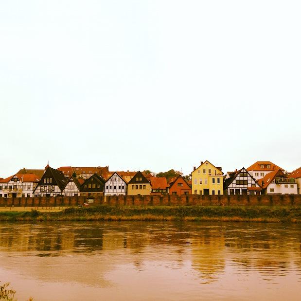 Fischerstand Minden, Weser