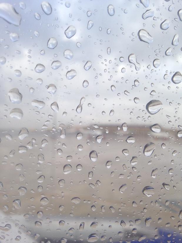Regen am Sevilla-Airport