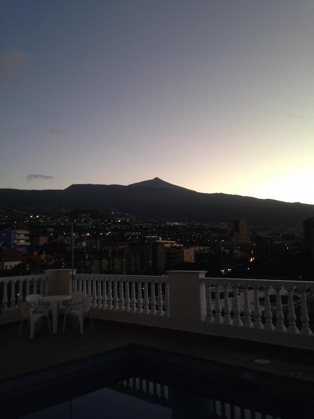 Teide im Sonnenuntergan