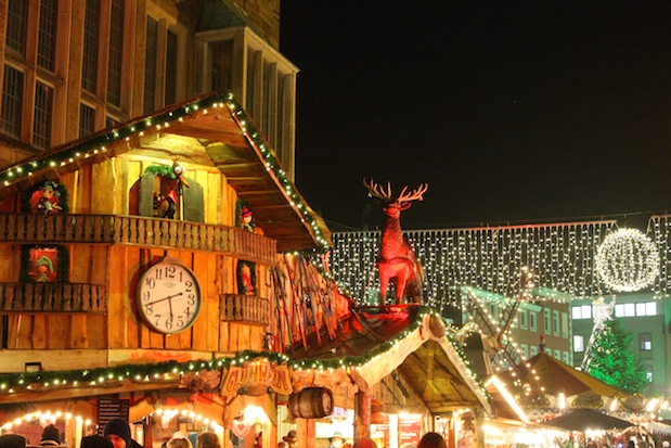 Weihnachtsmarkt in Minden 2014