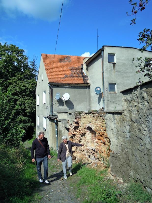 Geburtshaus in Frankenstein, Schlesien