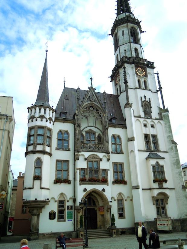 Rathaus in Frankenstein, Schlesien