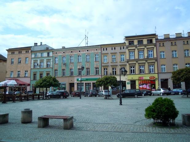 Marktplatz von Frankenstein