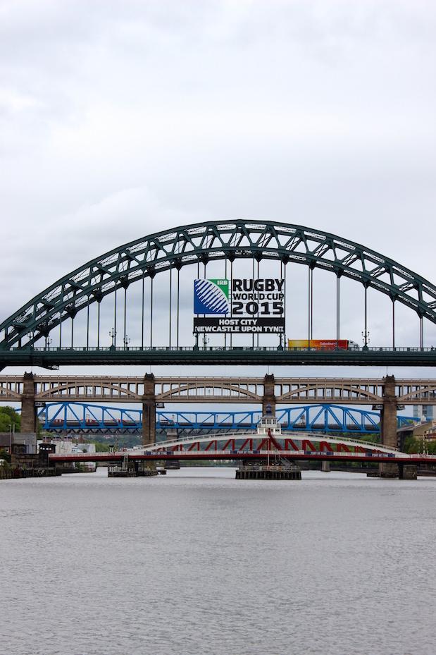 Die Newcastle-Brücken auf einen Blick