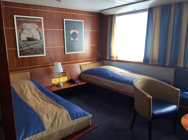 Commodore Deluxe-Kabine auf King Seaways