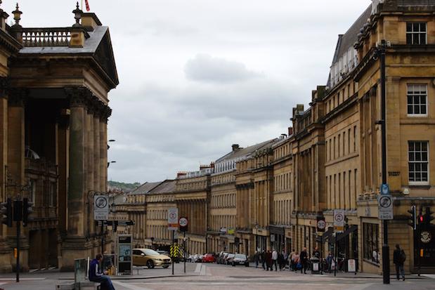 Grainger Town Newcastle - das alte viktorianische Stadtzentrum