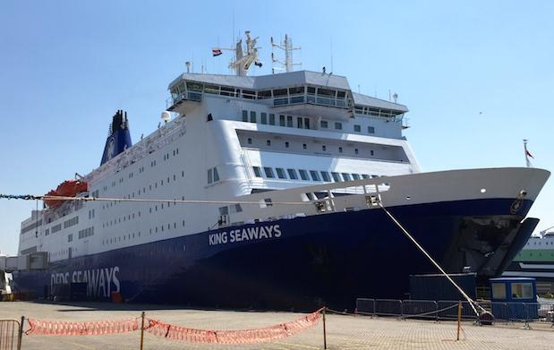 Minikreuzfahrt Amsterdam - Newcastle auf der King Seaways der Reederi DFDS Seaways