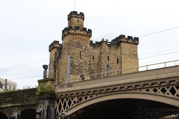 Newcastle Castle - in der Burg im Stadtzentrum soll es spuken