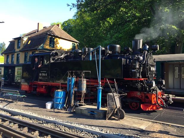 Rasender Roland: Dampfbetriebene Schmalspurbahn auf Rügen
