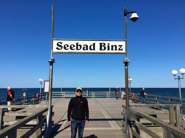 Seebrücke in Binz auf Rügen
