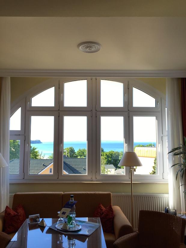 Hotel Hanseatic Rügen, Villa Fortuna: Aussicht auf die Ostsee