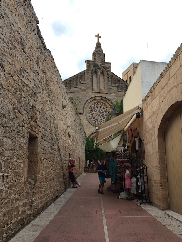 Kirche in Alcudia: Església de Sant Jaume