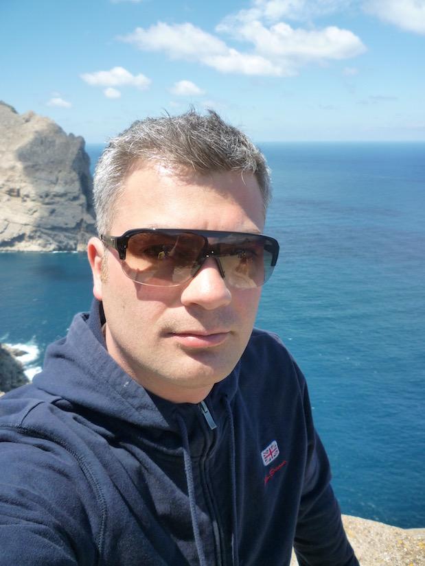 Reiseblogger am Cap de Formentor auf Mallorca