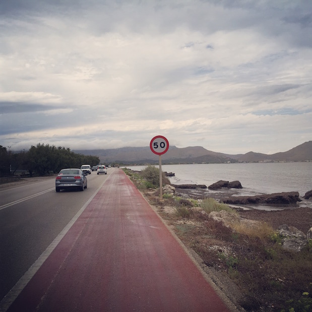 Mallorca-Radtour von Port d'Alcudia nach Port de Pollenca