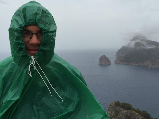 Regen und Gewitter am Cap de Formentor auf Mallorca