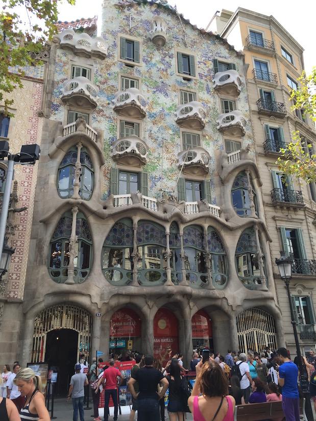 Casa Batlló: Ein weiteres Haus von Antoni Gaudí in Barcelona