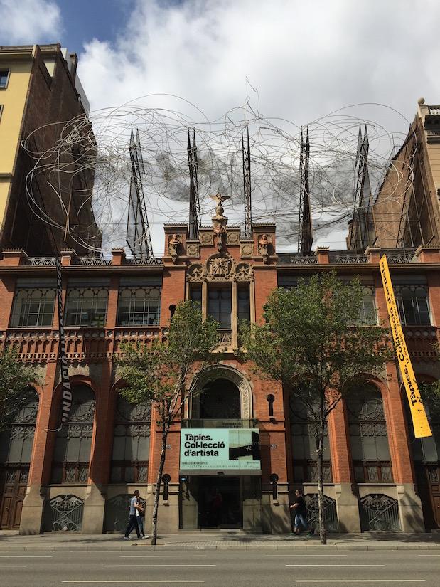 Fundació Antoni Tàpies in Barcelona