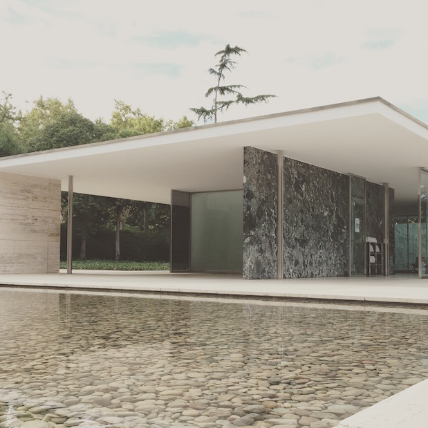Pavillon Mies van der Rohe in Barcelona