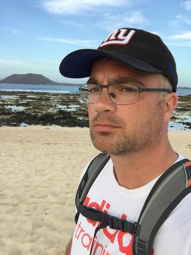 Am Gay Beach in Corralejo auf Fuerteventura