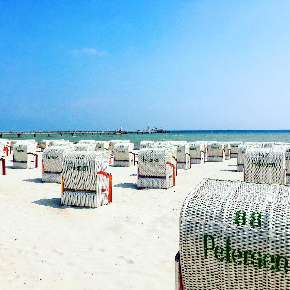 Günstige Strandkörbe in Grömitz an der Ostsee mieten
