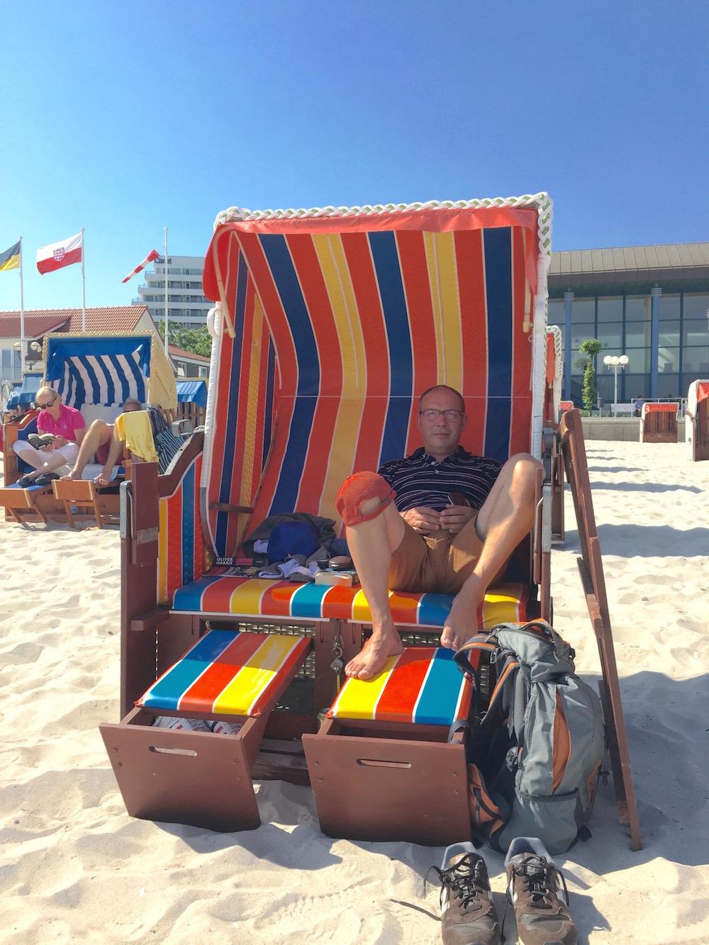 Strandkorb mieten in Grömitz