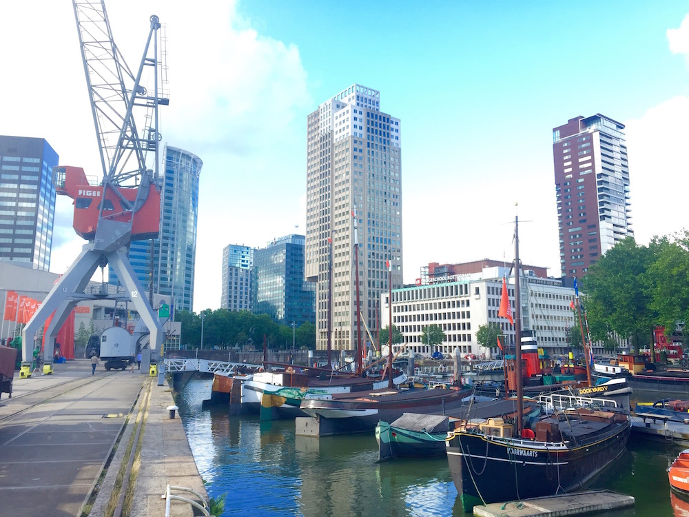 Die Docklands von Rotterdam