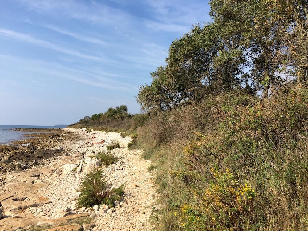 Gay Beach in Porec: Cruising Area für schwule Männer in Kroatien