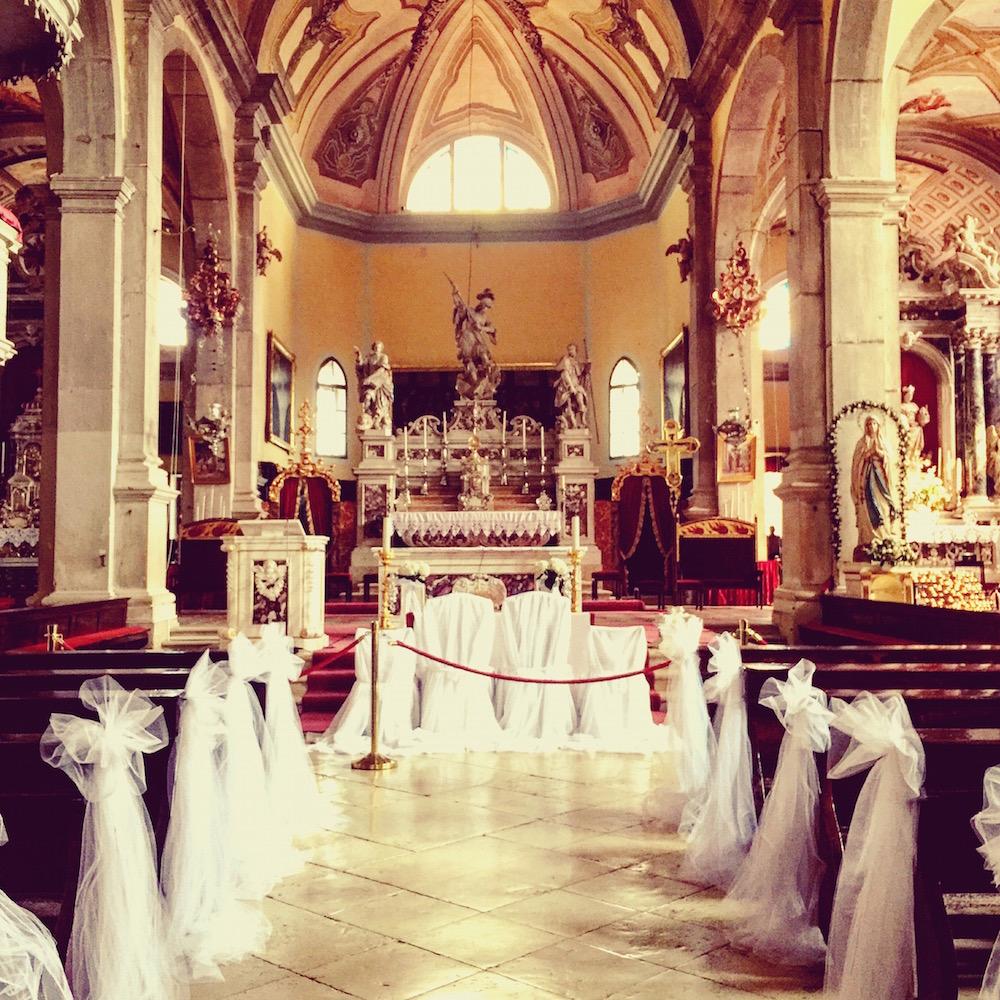Schwule und Lesben dürfen in der  Kirche Sveta Eufemija in Rovinj leider nicht heiraten