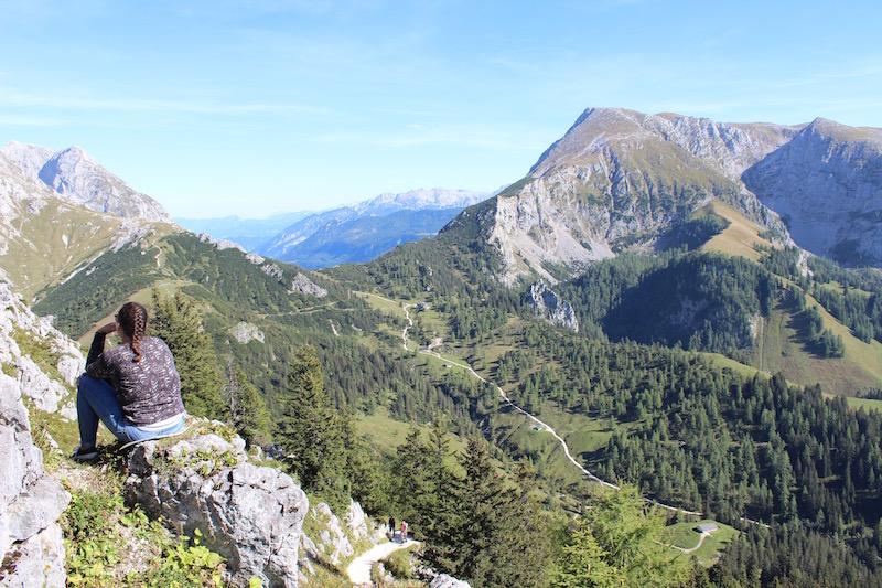 Herrliche Wanderwege führen durch durch die Bergwelt des Berchtesgadener Landes
