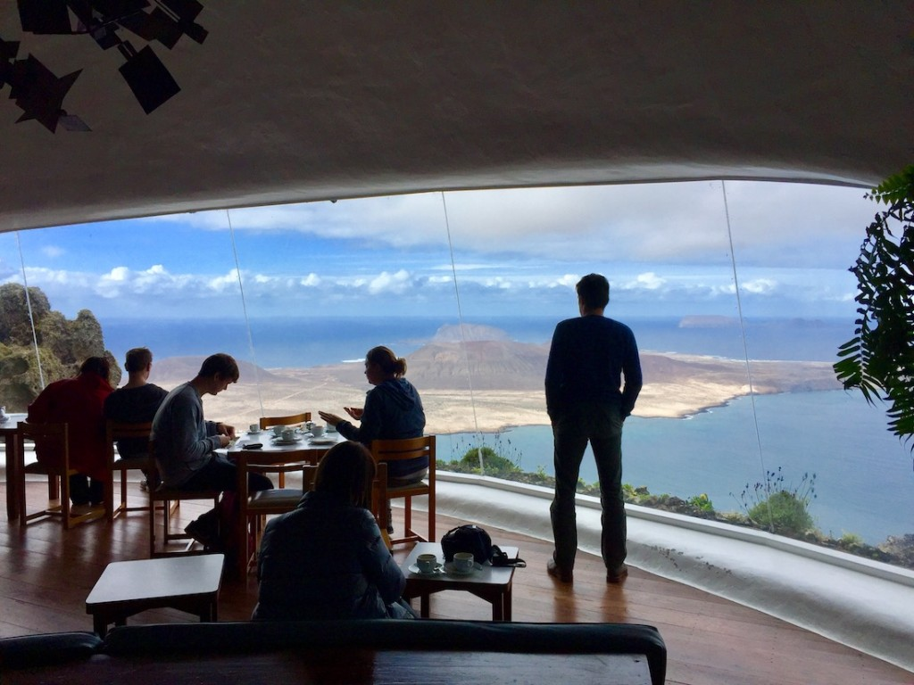 Mirador del Rio auf Lanzarote