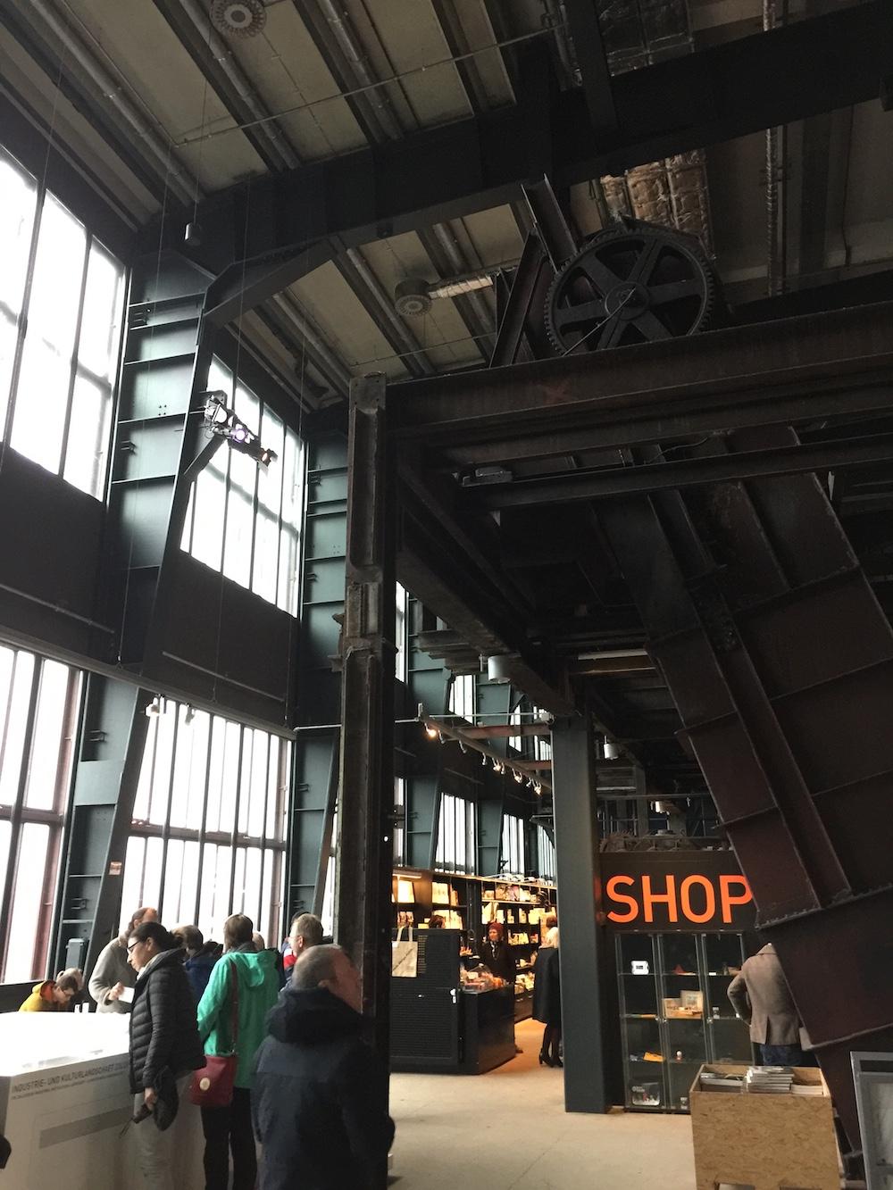 Klassische Industriearchitektur des Ruhrgebiets
