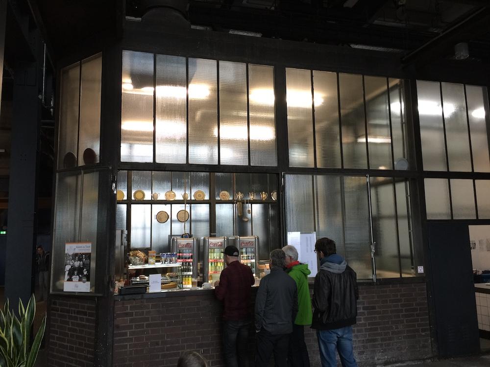 Im Museumscafé des Ruhr Museums gönnten wir uns eine kleine Stärkung