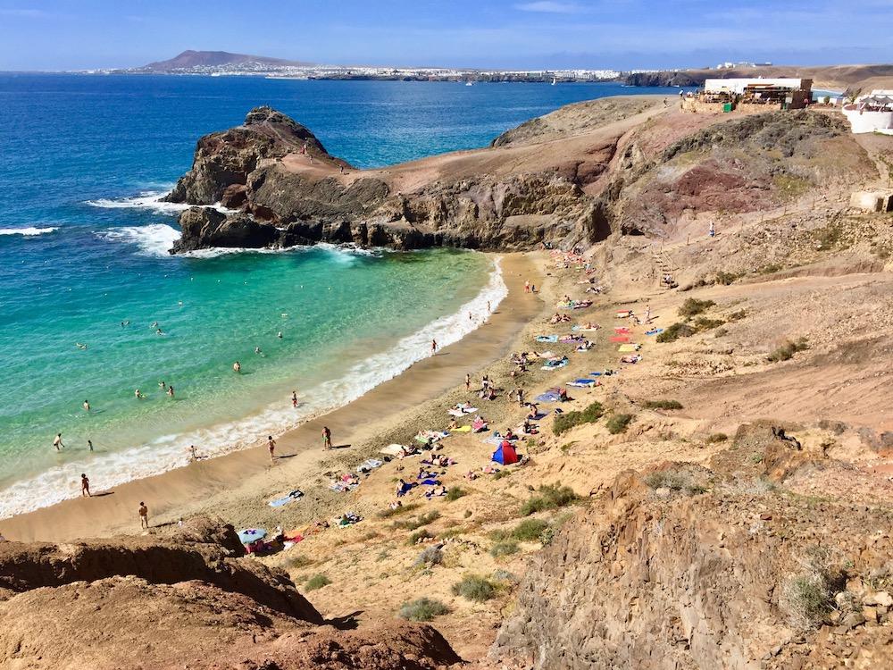 Die Papagayo-Strände in Playa Blanca sind die absoluten Traumstrände auf Lanzarote