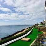 Badeurlaub in Playa Blanca im Süden von Lanzarote mit Sturm und Regen