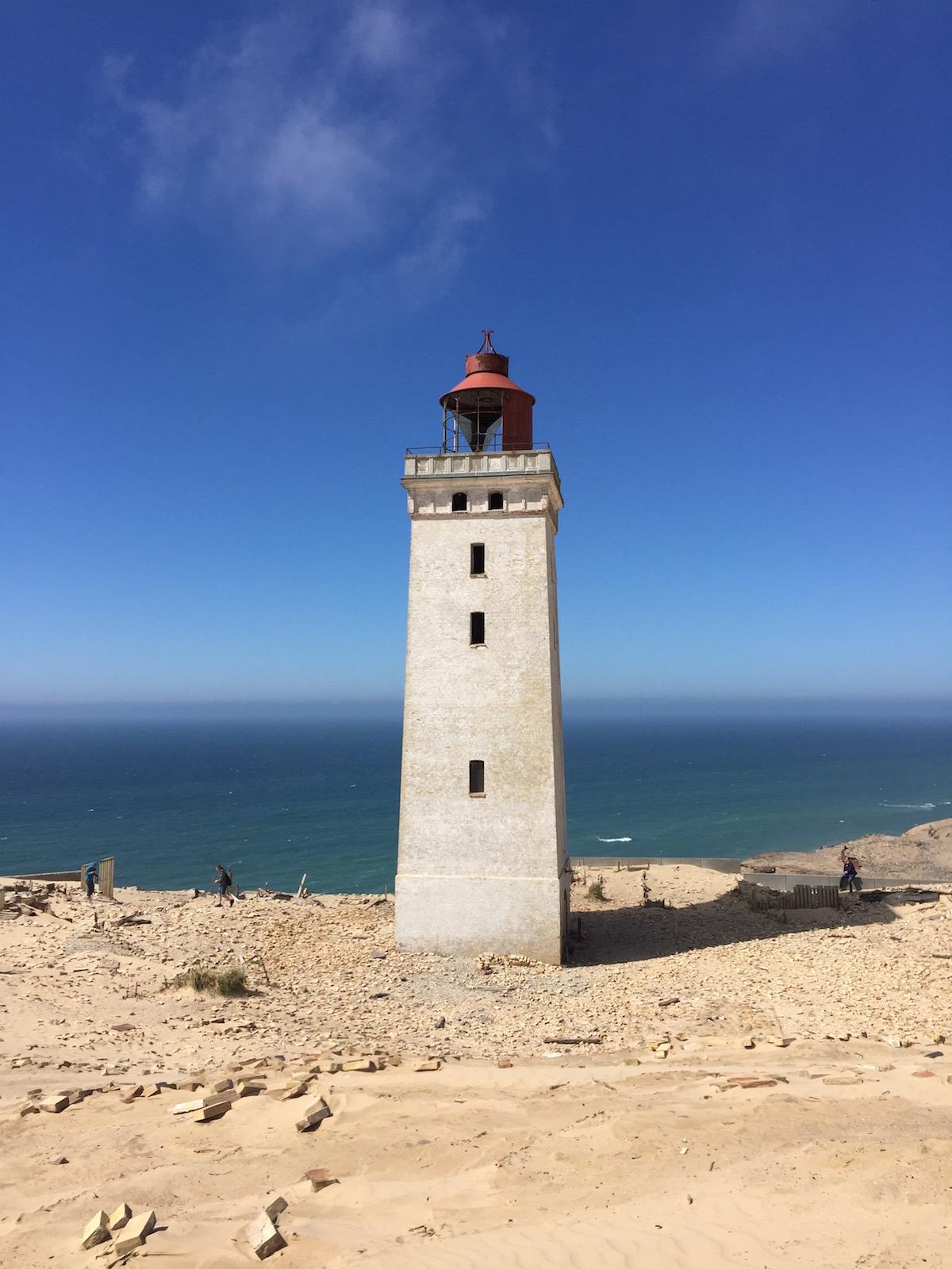Leuchtturm und Wanderdüne Rubjerg Knude
