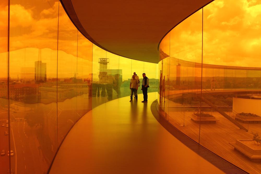 """""""Your rainbow panorama"""" von Olafur Eliasson"""