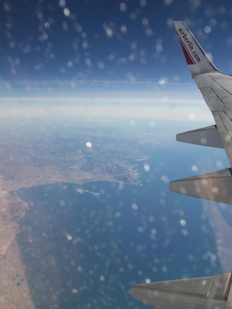 Mit Air Berlin von Mallorca nach Hannover