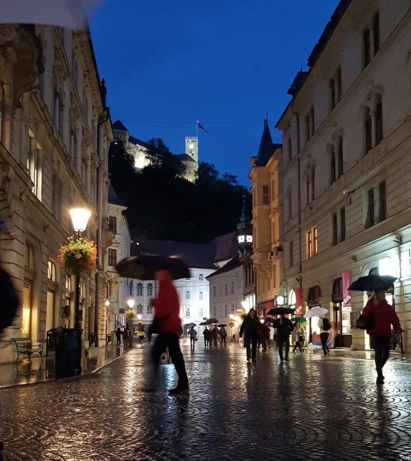 Die Burg von Ljubljana ist ein Muss auf jeder Städtereise