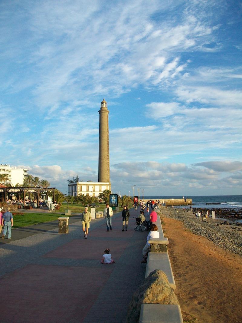 Urlaub immer wieder am selben Ort: Von der Strandpromenade in Meloneras kann ich nicht genug bekommen