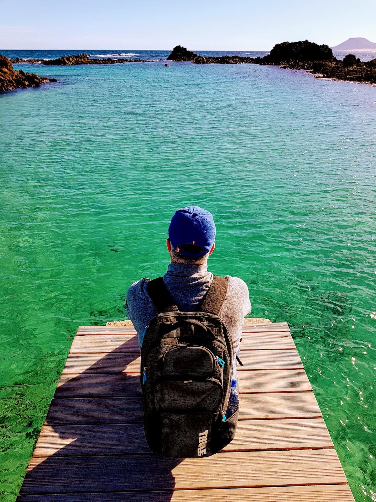 Die Lagune mit dem kristallklarem, grünen Wasser ist das ideale Fotomotiv für Reiseblogger
